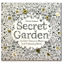 Secret Garden : An Inky Treasure Hunt and Colouring Book