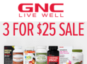 3 For $25 Sale on Select Wellness Essential