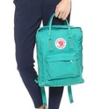 Fjallraven Kanken Backpack, Ocean Green