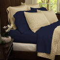 Soft 1800 Series Bamboo Fiber 6 piece Bed Sheets