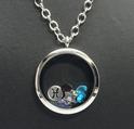 Zodiac Locket with Swarovski Elements