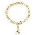 Tiffany Inspired Sterling Silver Heart Bracelet