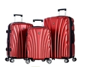 Olympia USA Vortex Eco-friendly 3-Piece Luggage Set