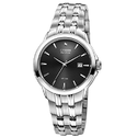 Citizen Eco-Drive Black Dial Stainless Steel Men's Watch