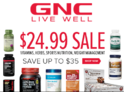 $24.99 Sale on Select Wellness Essentials
