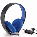PS4 Silver Wired Headset