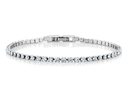 15Ct Tw Crystal Classic Tennis Bracelet