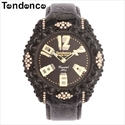 Up to 85% OFF Tendence Women's Glam Crystal Art Watch