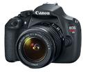 Canon EOS Rebel T5 单反相机 + EF-S 18-55mm IS II 镜头(翻新)
