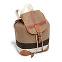 Burberry Kid's Canvas Check Backpack