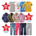 70% OFF Playwear + Extra 25% OFF $40