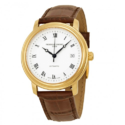 Frederique Constant Classics Automatic Silver Dial Gold-plated Mens Watch