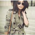 Burberry Brit 'Reymoore' Trench Coat