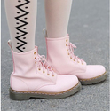 $40 OFF Rose Quartz and Serenity Dr. Martens Boots