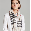 Burberry Heritage Stone Check Scarf