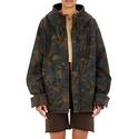 Adidas Original by Kanye West Yeezy Season Camouflage Zip-Detail Jacket