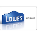 $115 Lowe's Gift Card
