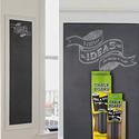 粘贴式黑白墙+粉笔
