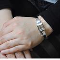 Gucci Women's G-Frame Diamond Stainless Steel Watch