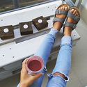 Extra 30% OFF Genuine Leather Sandals