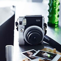 Fujifilm INSTAX Mini 90 Brown Instant Film Camera (Brown)