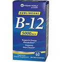 Vitamin World Sublingual B-12 5000 mcg