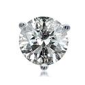 0.25-2.00 CTTW Round Diamond Studs in 14K Gold
