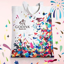 Godiva Free Bag and $10 OFF for Purches $75