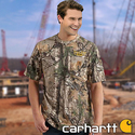 Carhartt Realtree Xtra Camo Men's Short Sleeve T-Shirt