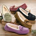 UGG Australia Suki 女士中国结加绒豆豆鞋