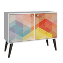Accentuations by Manhattan Avesta Double-Door Side Table