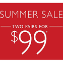 Summer Sale 2 Pairs for $99