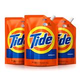 Tide 洗衣液简易包装3袋