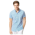 Tommy Hilfiger 男士修身短袖衬衫
