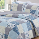 Home Fashion Designs Ultra Soft Printed Quilt Sets (3-Piece)