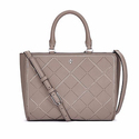 Tory Burch Robinson Small Crosshatch Tote