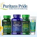 Puritan's Pride: Save up to 85% OFF Select Top Sellers