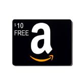 购买$50 亚马逊礼卡赠送免费$10