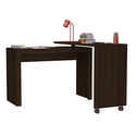 Accentuations Calabria L-Shaped Nested Desk