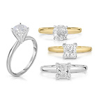 1.50 CTW Certified Diamond Solitaire Ring