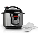 Nutrichef Multi-Function Pressure Cooker and Rice Cooker