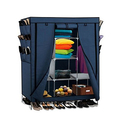Portable Wardrobe Closet Organizer with Shoe Rack