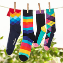 Happy Socks 大促所有订单15% OFF