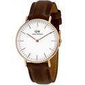 Daniel Wellington Classic Bristol White Dial Ladies Quartz Watch