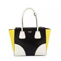 Prada Glace Calfskin Tricolor Tote Bag