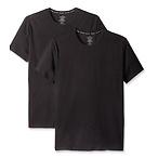 CK 男士黑色圆领T 恤2件