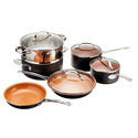 Gotham Steel Non-Stick Titanium Cookware Set (10-Piece)