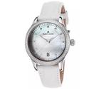 Maurice Lacroix Women's Les Classiques Diamond White Genuine Leather