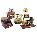 Jacki Design Vintage Music-Box Jewelry Holders