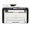 Ricoh SP 213SNw 3-In-1 Monochrome Multifunction Wireless Laser Printer
